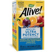 Nature's Way Alive!® Once Daily Men's 50+ Ultra Potency Multivitamin