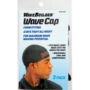 WaveBuilder Wave Cap, Style 653, 2 Pack