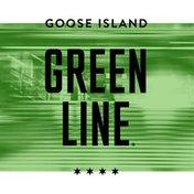 Goose Island Beer Co. Green Line Pale Ale Beer Barrel