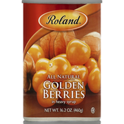 Roland Golden Berries, in Heavy Syrup