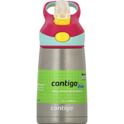 Contigo Water Bottle, Spill-Proof, Cherry Blossom, 10 Ounces
