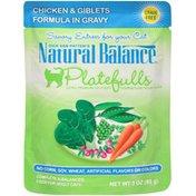 Natural Balance Dick Van Patten's Platefulls Chicken & Giblets in Gravy Cat Food