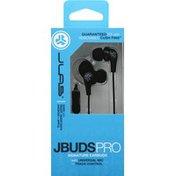 JLab JBuds Pro Signature Earbuds - Titanium