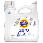 Tide Zero Liquid Laundry Detergent, Soft Lavender Scent