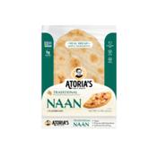 Atoria's Family Bakery Traditional Naan Flatbread
