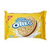 Oreo Nabisco Oreo Golden Chocolate Creme Sandwich Cookies