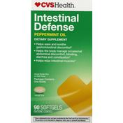 CVS Health Intestinal Defense, Softgels, Peppermint Oil