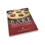 Nutri Books Bake Deliciously Gluten Free & Dairy Free Cook Book