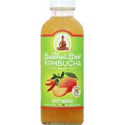 Buddha's Brew Kombucha, Spicy Mango