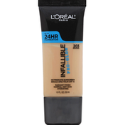 L'Oreal Infallible Pro-Glow Foundation Up To 24 HR 203 Nude Beige