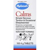 Hyland's Calms, 4 g, Tablets