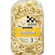 Al Dente Fettuccine Noodles, Egg