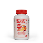 SmartyPants Kids Formula Daily Gummy Multivitamin: Vitamin C, D3, and Zinc for Immunity, Gluten Free, Omega 3 Fish Oil (DHA/EPA), Vitamin B6, Methyl B12
