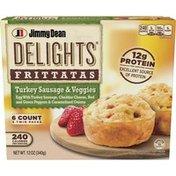 Jimmy Dean Delights Turkey Sausage and Veggies Frittatas, Frozen