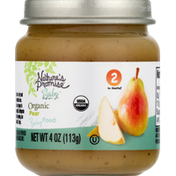 Nature's Promise Baby Food, Organic, Pear, 2 (6+ Months)