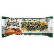 Glutenfreeda Gluten Free Pesto Chicken Pizza Wrap