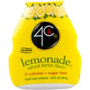 4C Foods Lemonade Liquid Water Enhancer
