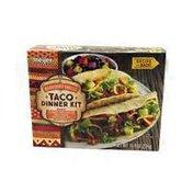 Meijer Taco Hard Taco Shells, Taco Sauce, Seasoning Mix Dinner Kit