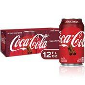 Coca-Cola Cinnamon Flavored Soda