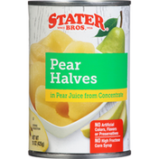 Stater Bros. Markets Pear Halves In Pear Juice From Concentrate