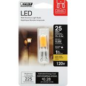 Feit Electric Light Bulb, LED, Warm White, 2.3 Watts