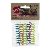 SPOT Colorful Springs-Thin Cat Toy - 10 CT
