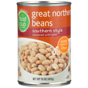 Food Club Southern Style Great Northern Beans Seasoned With Pork