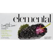 Elemental Superfood Superfood Seedbars, Mulberry Cacao + Spirulina