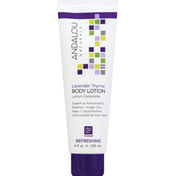 Andalou Naturals Body Lotion, Refreshing, Lavender Thyme