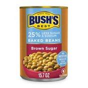 Bush's Best Brown Sugar Reduced Sodium & Sugar Baked Beans