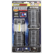 Bell and Howell Lantern, Mini, 3 Pack