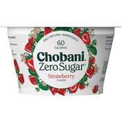 Chobani with Zero Sugar Strawberry