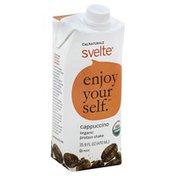 Svelte Shake, Protein, Cappuccino, Enjoy Yourself, Svelte, Organic, Brick
