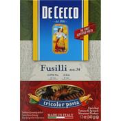 De Cecco Fusilli Tricolor Pasta