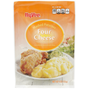 Hy-Vee Four Cheese Real Mashed Potatoes Seasoned With Cheese