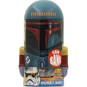 Tin Box Money Bank, Disney Star Wars Boba Fett