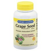 Nature's Answer Grape Seed Extract, 95% OPC's, Vegetarian Capsules