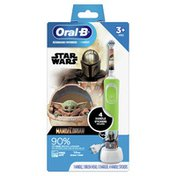 Oral-B Kids Electric Toothbrush featuring Star Wars The Mandalorian, for Kids 3+