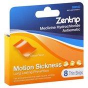Zentrip Motion Sickness, Citrus Flavor, Thin Strips