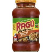 Ragu Chunky Sauce, Roasted Garlic