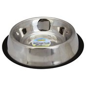 Ruffin' It Dish for Dogs, Stainless Steel, 64 oz