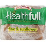 Brownberry/Arnold/Oroweat Bread, 100% Whole Grain, Flax & Sunflower