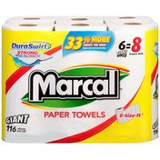 Marcal® DuraSwirl U-Size-It 2-Ply 116 Sheets Paper Towels