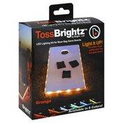 Brightz Cornhole Board Lights - Orange