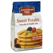 Arrowhead Mills Pancake & Waffle Mix, Sweet Potato, Organic, Bag
