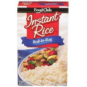 Food Club Boil-In-Bag Enriched Long Grain Instant White Rice