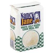 Nancy Jane Corn Meal Mix, Self-Rising, White