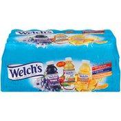 Welch's Orange Pineapple/100% Apple/Grape  Juice Drink Variety
