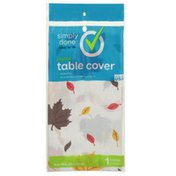 Simply Done Plastic Table Cover