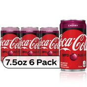 Coca-Cola Cherry  Mini Cans, Cherry Flavored Diet Soda Soft Drink